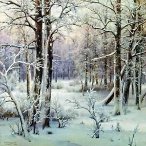 Winter-Woods-by-Ivan-Avgustovich