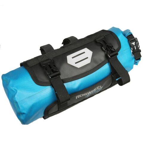 Waterproof Mountain Bike Bicycle Storage Handlebar TPU Bag 7L Cycling Front Bag