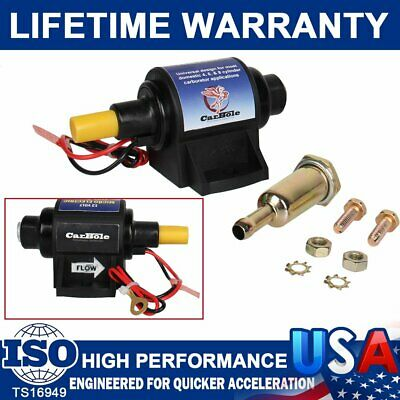 High Performance 4-7 PSI Micro Electric Fuel Pump w//Carburetor 35 GPH 12V