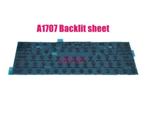 UK keyboard for Apple A1707 MLH32LL//MLH42LL//MPTT2LL//MPTR2LL//MPTU2LL 2016 2017