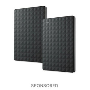 2-Pack Seagate Expansion Portable 1TB External Hard Drive HDD USB3.0 STEA1000400