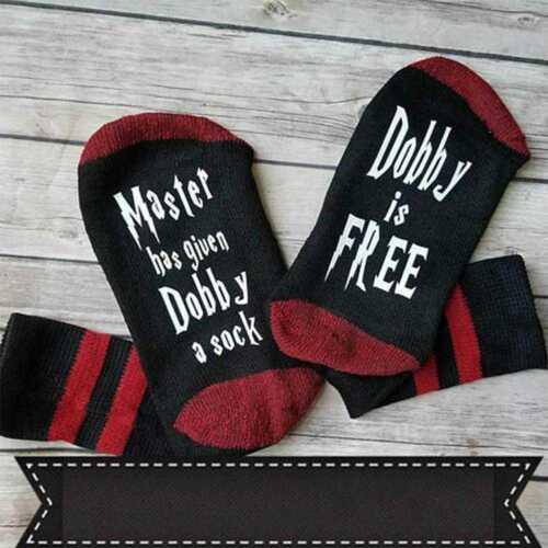 """Dobby is free/"""" D0E6 Master has given Dobby a sock Unisex  Dobby Socks"""