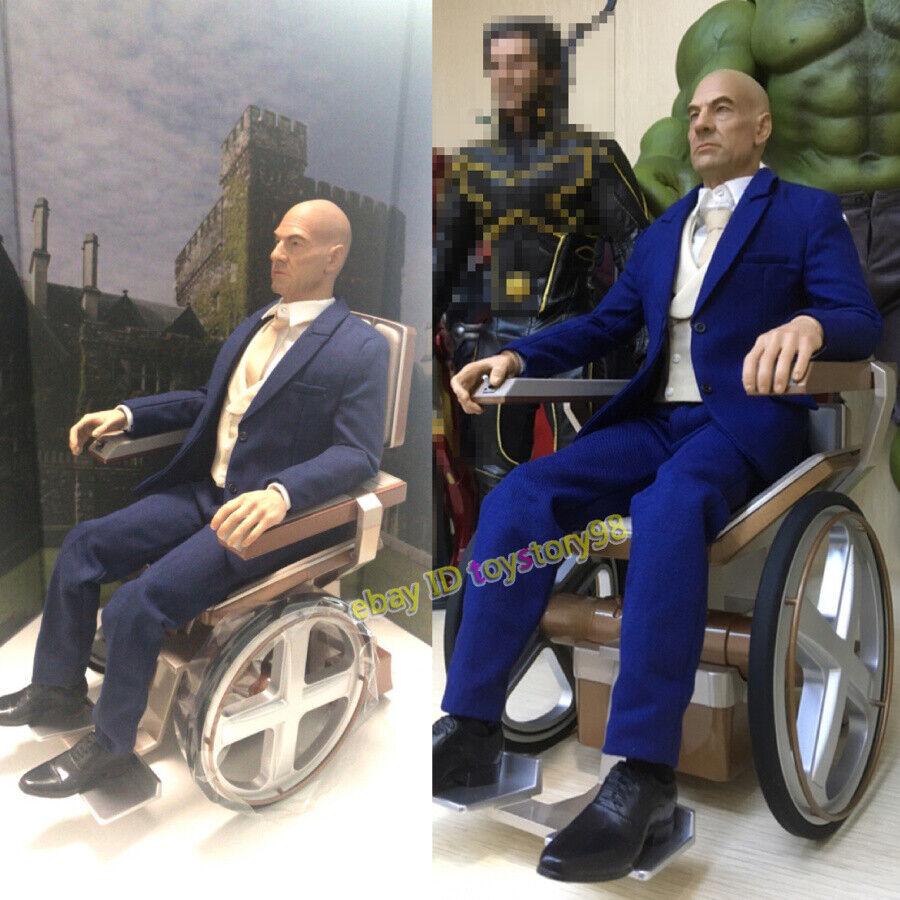 X-Men Profesor X 1 6 Patrick Stewart Figura de Acción Juguetes En Stock Nuevo Model
