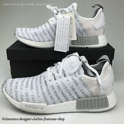 a88d04ad150b ADIDAS NMD R1 MENS TRAINERS NOMAD BLACKOUT WHITEOUT BOOST LTD EDITION RUN  SHOES