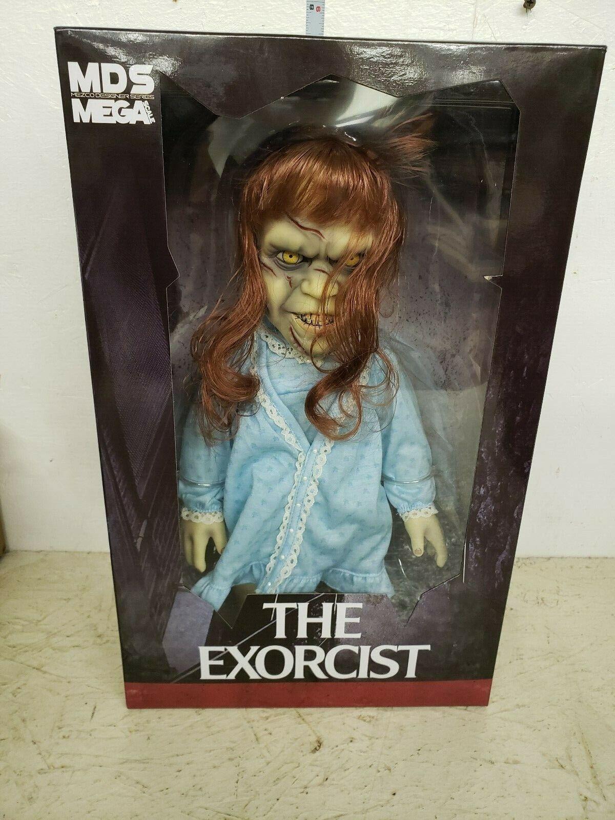 Mezco Mega The Exorcist Regan 15in Figure in package