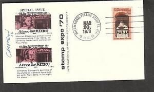 1970-signed-cachet-cover-Stamp-Expo-70-Anaheim-CA-artist-Armando-Campero