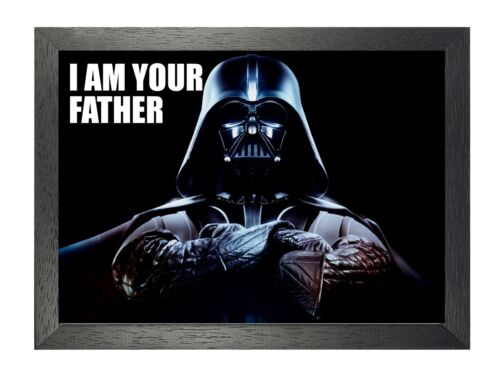 Darth Vader I AM YOUR FATHER Star Wars Movie Film Sci-fi Quote Picture Poster