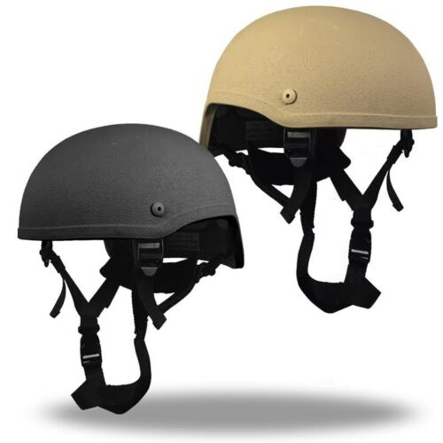 High Cut Ballistic  Bullet Proof made w// KEVLAR ACH MICH Military Helmet