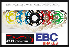 EBC Vee Rotor Front Brake Disc for Yamaha 600 Fazer 98-03 Black Blue Red Silver