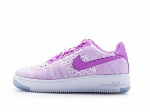 6b99993c04a6 Image is loading NIKE-820256-500-WMNS-AIR-FORCE-1-FLYKNIT-
