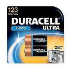 Duracell Fotobatterie CR-123A Lithium CR123 1400 mAh 3 V 2 St.