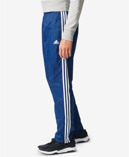 Mens Adidas Essentials 3-Stripe Wind Pants NAVY BLUE CD7078
