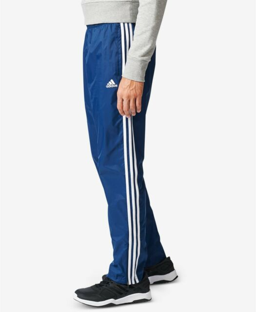 [CD7078] Mens Adidas Essentials 3-Stripe Wind Pants NAVY BLUE