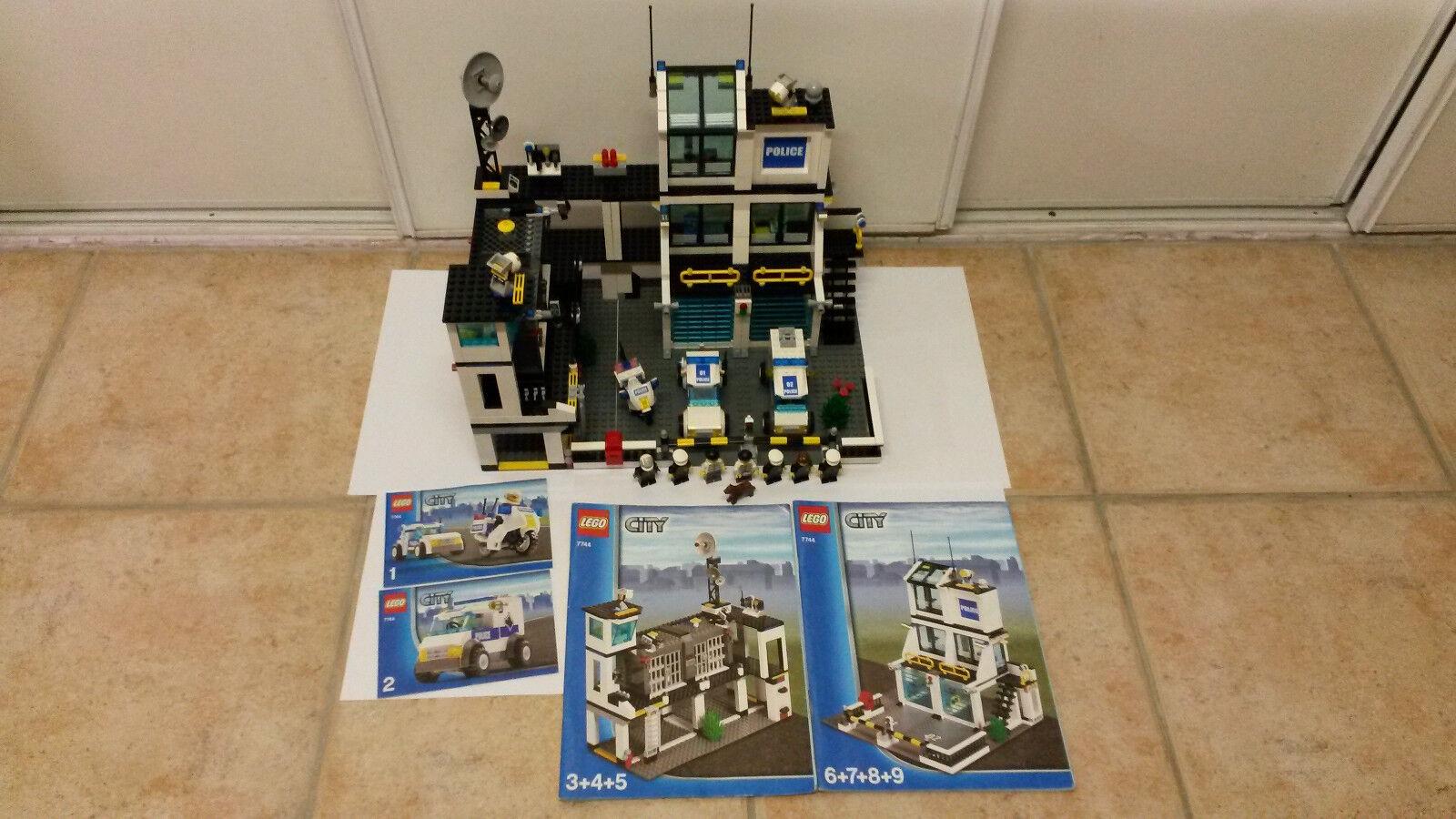 Lego city le grand commissariat de police ref 7744