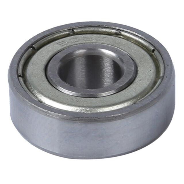 2 Pcs Single Shielded 608Z Miniature Deep Groove Ball Bearings R1Q5