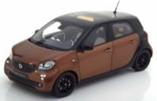 DEALER MODELS B66960298 or B66960299 SMART FORFOUR model cars brown grey 1:18th