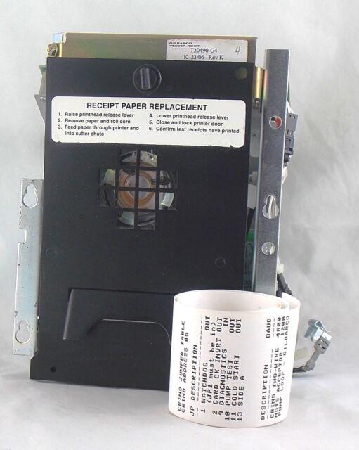 Gilbarco T20490-G4 Advantage CRIND Printer Assy REMANUFACTURED