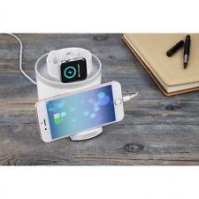 Imobi4 3 Port Multifunctional USB Hub Desktop Apple iWatch Charging Stand