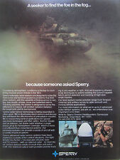7-8/1980 PUB SPERRY GYROSCOPE RADAR SENSOR SYSTEMS ARMY NAVY ORIGINAL  AD