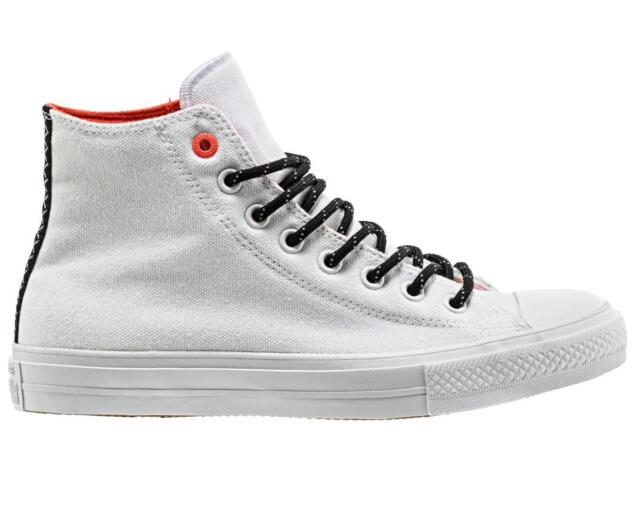94e1c2361721 Converse Chuck Taylor All Star II Shield Canvas White Mens Casual ...