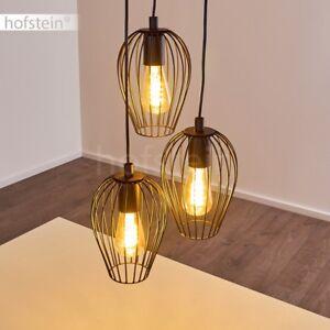 Pendel Lampen rostfarben Ess Wohn Schlaf Zimmer Beleuchtung Retro Hänge Leuchten