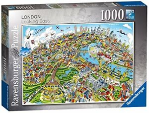 Ravensburger-London-looking-east-1000pc-Jigsaw-Puzzle-CAPITAL-CITY-ENGLAND