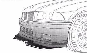 BMW E M GT SPOILER SPLITTER WITHFULL SET OF MOUNTS Alpina AC - E36 ac schnitzer spoiler
