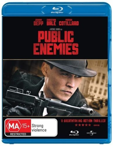 1 of 1 - Public Enemies (Blu-ray, 2009) NEW