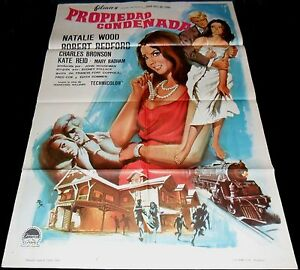1966 This Property Is Condemned ORIGINAL POSTER Robert ...
