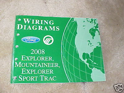 2008 Ford Explorer, Mountaineer Wiring Diagrams | eBay
