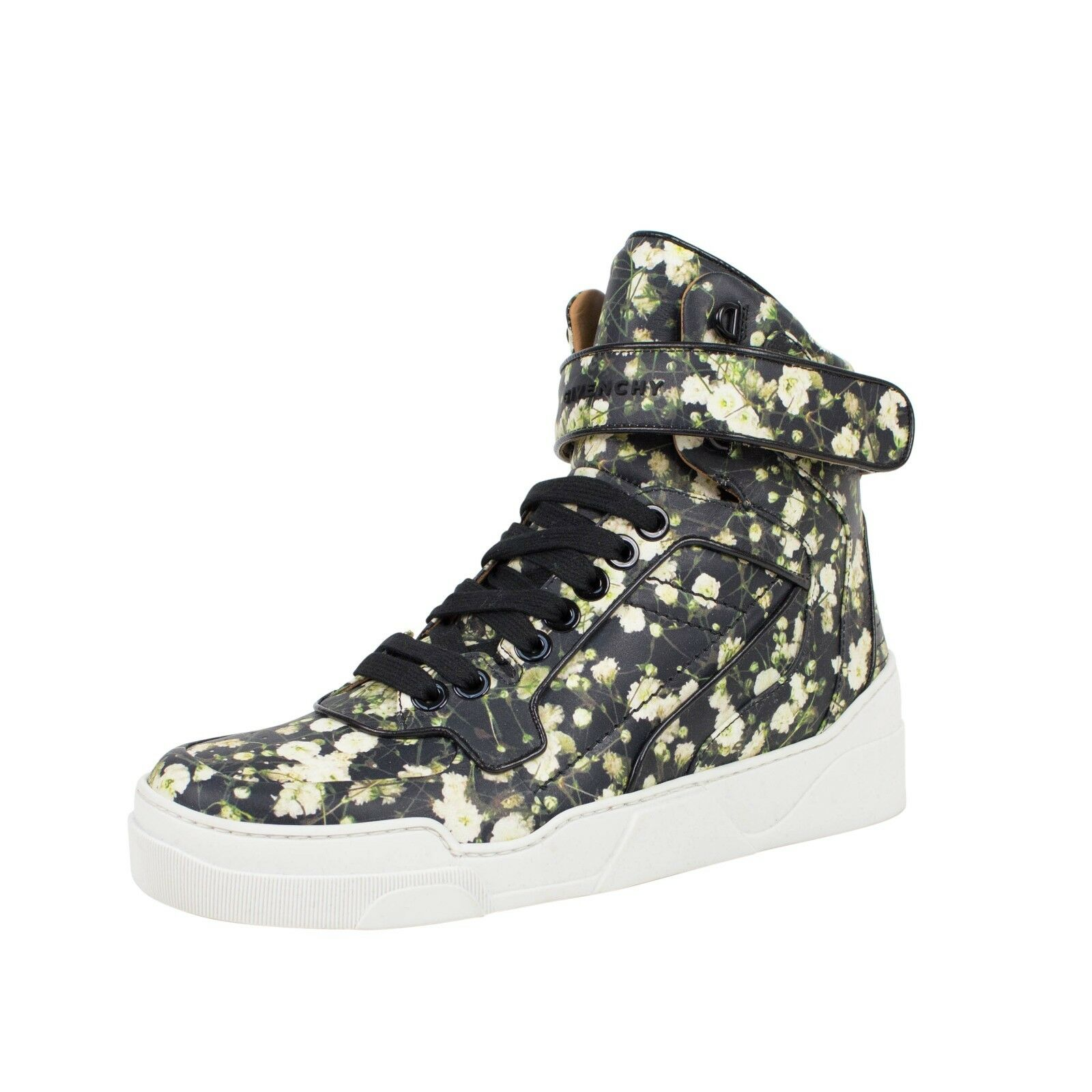 NIB GIVENCHY Floral Print Tyson High-Top Sneakers shoes 8 41