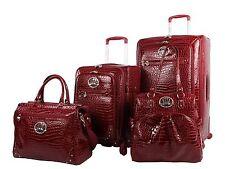 c916293d8 item 5 NEW Kathy Van Zeeland Croco PVC Luggage Set 4 Piece Expandable  Spinner Suitcase -NEW Kathy Van Zeeland Croco PVC Luggage Set 4 Piece  Expandable ...