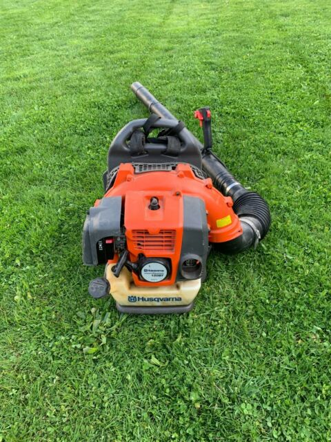 used Husqvarna 150bt Commercial 50cc 2 Cycle Gas Backpack Blower