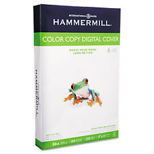 Hammermill Copier Digital Cover Stock 80 lbs. 17 x 11 Photo White 250 Sheets