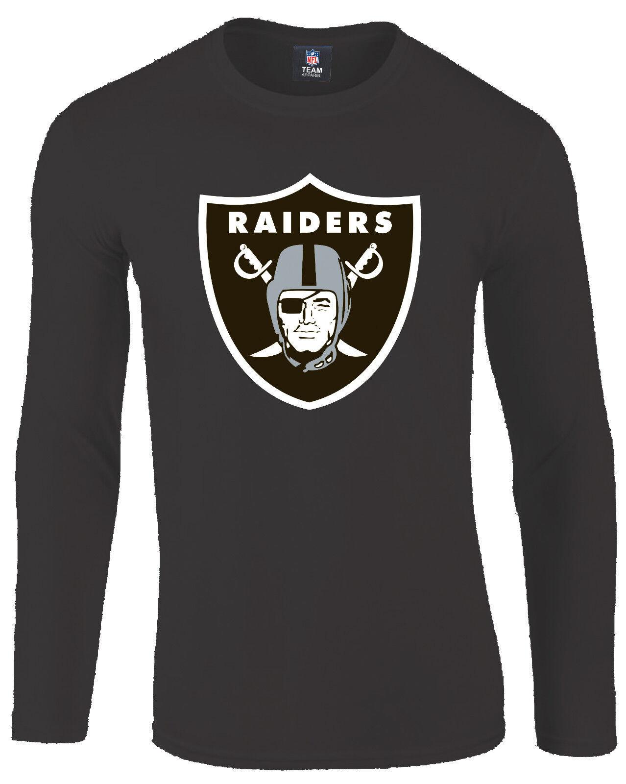 NFL FOOTBtutti Oakle Raiders shirt uomoica lunga camica Domestic HYPER