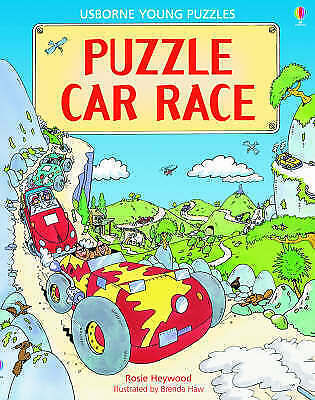 (Good)-Puzzle Car Race (Young Puzzles) (Paperback)-Heywood, R.-0746060661