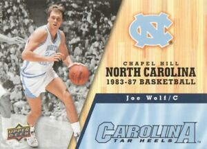 2010-11 Upper Deck North Carolina Basketball #49 Joe Wolf Tar Heels