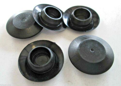 """1//2/"""" Plugs Sheet metal Plugs Black Polyethylene 14-26 G"""