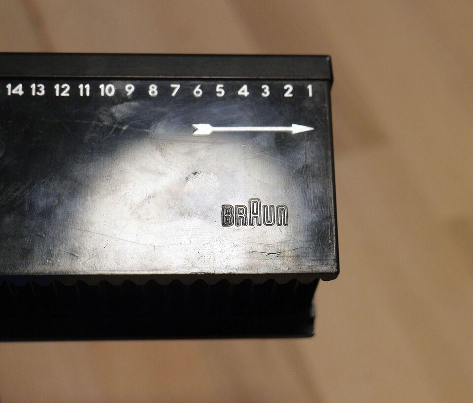 dias kassette, Braun, Perfekt