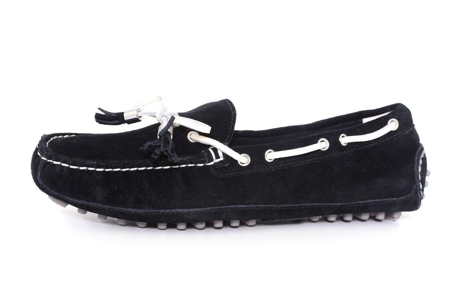 all'ingrosso a buon mercato Mismatch Cole Cole Cole Haan Donna  Suede Leather nero Grant Drivers 7668 Sz 6B-R 6.5B-L  prima i clienti