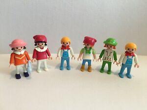 playmobil figur figuren 6 kinder zum puppenhaus spielplatz