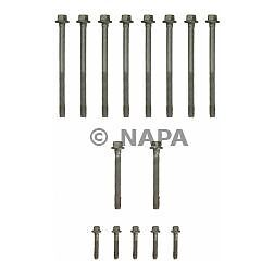 Engine Piston Block lp Fel-Pro ES 72173 Cylinder Head Bolt Set FelPro ES72173