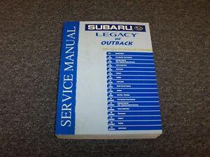 2004 subaru legacy outback shop service repair manual l gt sport rh ebay com 2004 subaru legacy service manual 2006 Subaru Legacy Manual
