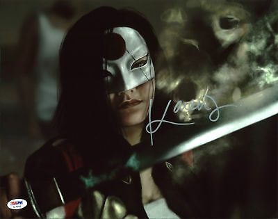 Bright Karen Fukuhara Suicide Squad Authentic Signed 11x14 Photo Psa/dna #ac43956 Commodities Are Available Without Restriction Movies