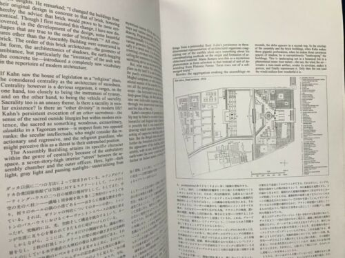 USED GA Global Architecture #72 Louis I Kahn Capital Bangladesh Japanese Book