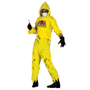 Nuclear Zombie Kostüm für Herren|Adult Radioactive Zombie