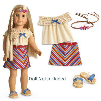 American Girl Doll Kit Retired School Skirt Set Outfit Skirt ONLY