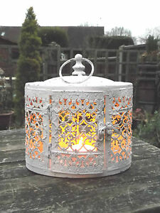 Antique-Vintage-Style-Moroccan-Garden-Lantern-Candle-Holder-Tea-Light-Holder-NEW
