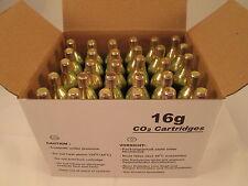 30 CO2 cartridge 16g threaded tire inflator sports C02 soda keg HVAC  16 gram TH
