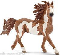 Schleich 13794 Pinto Stallion Horse Figurine - Hand Painted - Brand